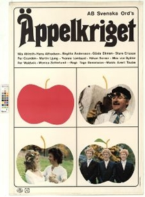 Äppelkriget - Poster / Capa / Cartaz - Oficial 1