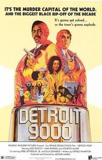 Detroit 9000 - Poster / Capa / Cartaz - Oficial 1