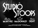 Um estúdio e três estúpidos (Studio Stoops)
