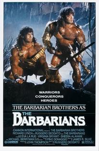 Os Bárbaros - Poster / Capa / Cartaz - Oficial 1