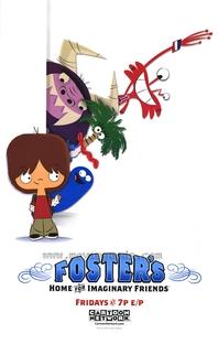 A Mansão Foster para Amigos Imaginários (1ª temporada) - Poster / Capa / Cartaz - Oficial 5