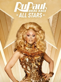 RuPaul's Drag Race: All Stars (3ª Temporada) - Poster / Capa / Cartaz - Oficial 1