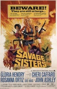 Savage Sisters - Poster / Capa / Cartaz - Oficial 1