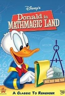Donald no País da Matemágica - Poster / Capa / Cartaz - Oficial 1