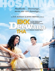 Ekk Deewana Tha - Poster / Capa / Cartaz - Oficial 3