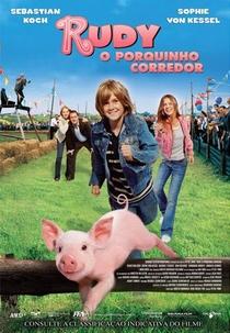 Rudy - O Porquinho Corredor - Poster / Capa / Cartaz - Oficial 1