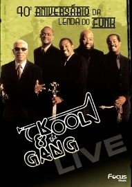 Kool and the Gang - Live - Poster / Capa / Cartaz - Oficial 1