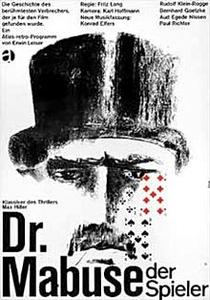 Dr. Mabuse, o Jogador - Poster / Capa / Cartaz - Oficial 2