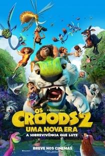 Os Croods 2: Uma Nova Era - Poster / Capa / Cartaz - Oficial 1