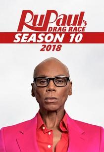 RuPaul's Drag Race (10ª Temporada) - Poster / Capa / Cartaz - Oficial 3
