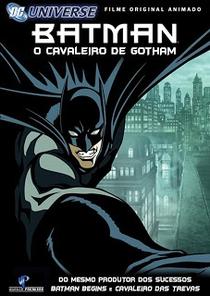 Batman: O Cavaleiro de Gotham - Poster / Capa / Cartaz - Oficial 4