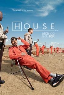 Dr. House (8ª Temporada) - Poster / Capa / Cartaz - Oficial 5