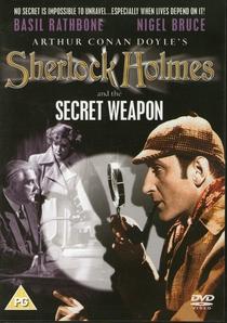 Sherlock Holmes e a Arma Secreta - Poster / Capa / Cartaz - Oficial 4