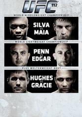 UFC 112: Invincible: Silva vs. Maia - Poster / Capa / Cartaz - Oficial 1