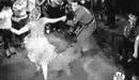 Alegria de viver de 1958 - Cena no Rock boy club.