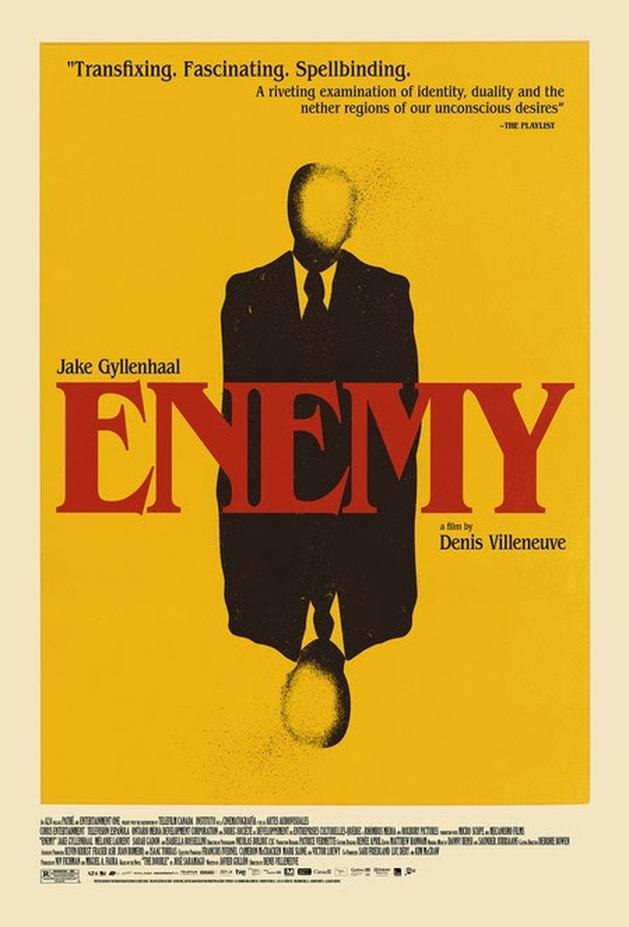 Jake Gyllenhaal em dobro no trailer legendado do suspense ENEMY, de Denis Villeneuve |