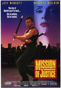 Leis Marciais 3 - Missão de Justiça  - Poster / Capa / Cartaz - Oficial 2