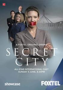 Secret City (1ª Temporada) - Poster / Capa / Cartaz - Oficial 2