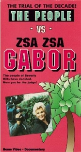 The People vs. Zsa Zsa Gabor - Poster / Capa / Cartaz - Oficial 1