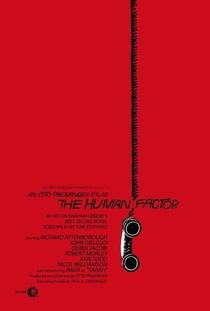 O Fator Humano - Poster / Capa / Cartaz - Oficial 1