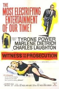 Testemunha de Acusação - Poster / Capa / Cartaz - Oficial 3