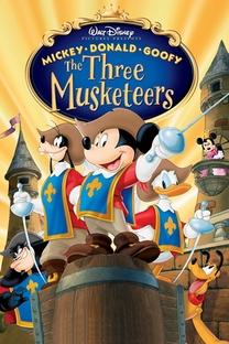 Mickey, Donald e Pateta - Os Três Mosqueteiros - Poster / Capa / Cartaz - Oficial 3
