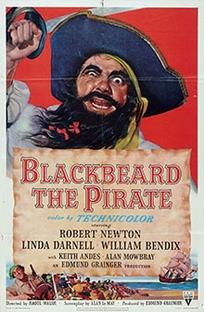 Barba Negra, o Pirata - Poster / Capa / Cartaz - Oficial 2