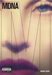 MDNA World Tour - Poster / Capa / Cartaz - Oficial 1