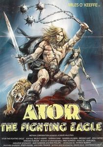 Ator - A Águia Guerreira - Poster / Capa / Cartaz - Oficial 1