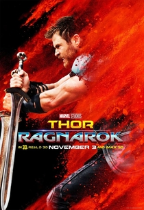 Thor: Ragnarok - Poster / Capa / Cartaz - Oficial 7