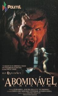 Abominável Criatura - Poster / Capa / Cartaz - Oficial 2
