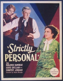 Strictly Personal - Poster / Capa / Cartaz - Oficial 1
