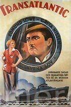 Transatlântico - Poster / Capa / Cartaz - Oficial 1