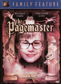 Pagemaster – O Mestre da Fantasia - Poster / Capa / Cartaz - Oficial 4