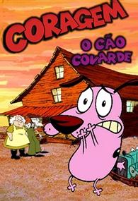Coragem, o Cão Covarde (1ª temporada) - Poster / Capa / Cartaz - Oficial 3