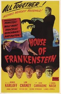 A Casa de Frankenstein - Poster / Capa / Cartaz - Oficial 3