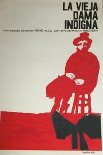 A Velha Dama Indigna - Poster / Capa / Cartaz - Oficial 1