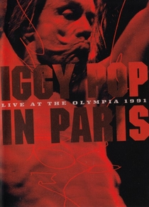 Iggy Pop -‎ In Paris - Live At The Olympia 1991 - Poster / Capa / Cartaz - Oficial 1