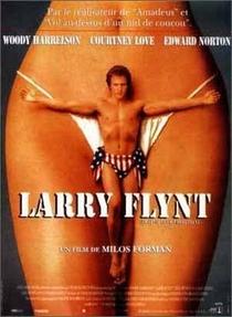 O Povo Contra Larry Flynt - Poster / Capa / Cartaz - Oficial 2