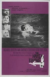 A Noite do Iguana - Poster / Capa / Cartaz - Oficial 3