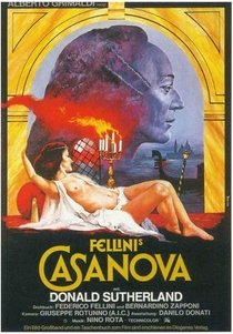 Casanova de Fellini - Poster / Capa / Cartaz - Oficial 1