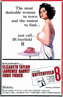 Disque Butterfield 8 - Poster / Capa / Cartaz - Oficial 3