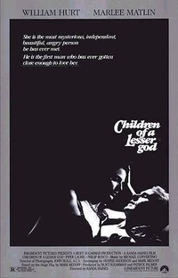 Filhos do Silêncio - Poster / Capa / Cartaz - Oficial 1