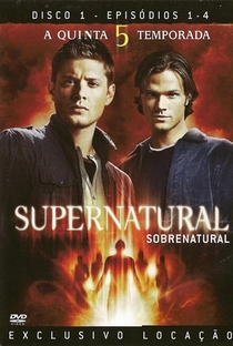 Sobrenatural (5ª Temporada) - Poster / Capa / Cartaz - Oficial 4