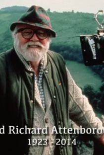 Richard Attenborough: A Life in Film - Poster / Capa / Cartaz - Oficial 1