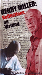 Henry Miller: Reflections on Writing - Poster / Capa / Cartaz - Oficial 1