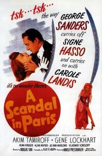 Vidocq, Um Escândalo em Paris  - Poster / Capa / Cartaz - Oficial 1