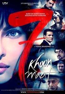 7 Khoon Maaf - Poster / Capa / Cartaz - Oficial 1