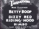 Betty Boop in Dizzy Red Riding-Hood (Betty Boop in Dizzy Red Riding-Hood)