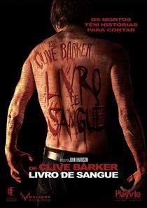 Livro de Sangue - Poster / Capa / Cartaz - Oficial 3